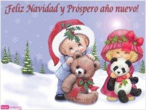 felicitacion de navidad, dibujo navideño, postal navidad 2017