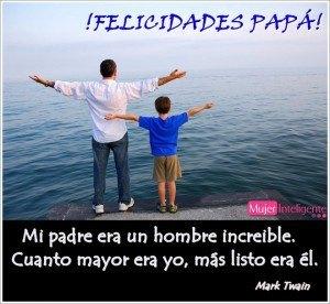 bonita imagen de un padre con su hijo