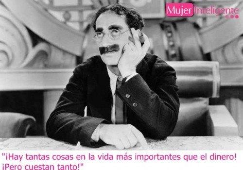 frase famosa de Groucho Marx