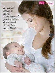hay millones de manera de ser una buena mamá