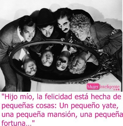 Frase genial de Groucho Marx