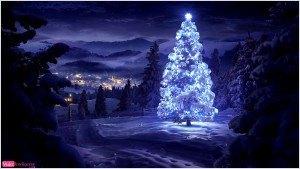 postal navideña, árbol de navidad, foto de invierno, felicitación de navidad, feliz navidad, año nuevo 2016