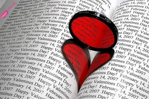 san valentin libro corazon, día de los enamorados, 14 de febrero
