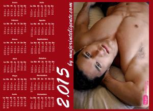 mujer inteligente calendario 2015 chico guapo mirada seductora