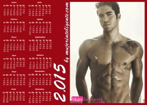 calendario 2015 chico guapo con buen cuerpo