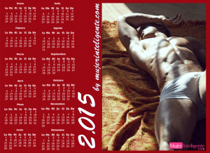 mujer inteligente calendario 2015 chico guapo sin camisa