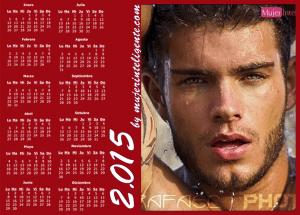 mujer inteligente calendario año 2015 chico guapo