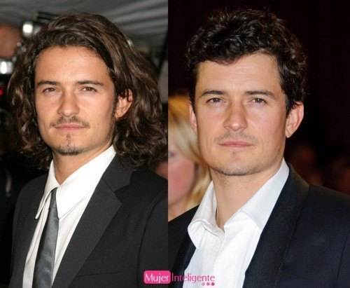 Orlando Bloom cambio de look