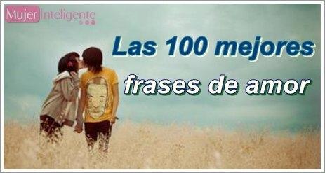 Las 100 mejores frases de amor