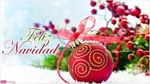postal de navidad, adornos navideños, foto bolas roja para el árbol, felicitación navideña, feliz navidad 2014
