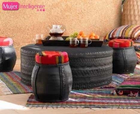 Reciclar coches para convertirlos en elementos de decoración