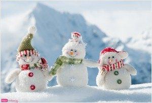 tarjeta navideña, postal muñecos de nieve graciosos, foto de invierno, felicitación de navidad, feliz navidad, año nuevo 2016, salvapantallas navideño