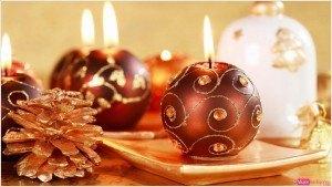 tarjeta de navidad, adornos navideños, foto bolas para el árbol, felicitación postal de navideña